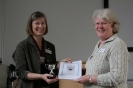 Alexandra Woolner received the Peter Woolfe award